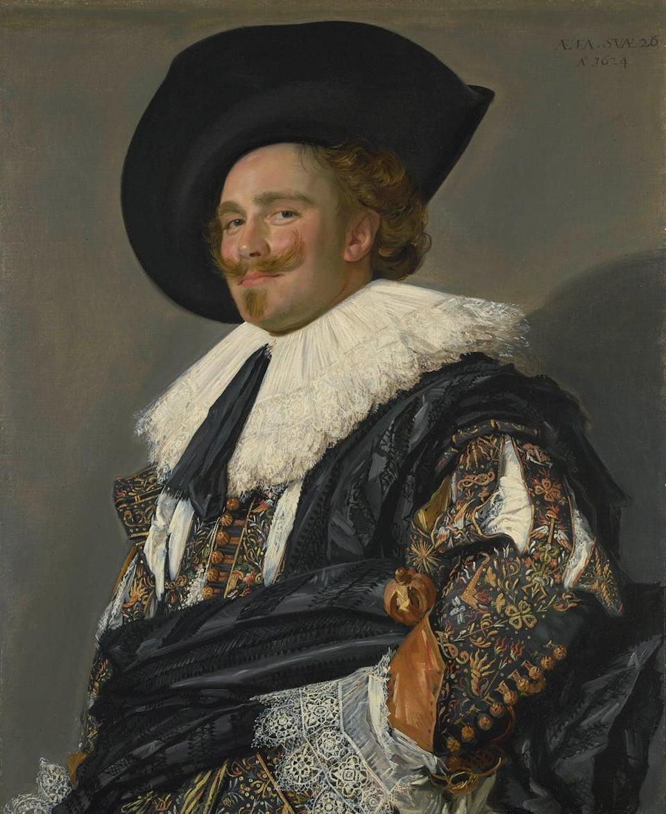 The Laughing Cavalier, 1624 (Trustees of the Wallace Collection, London)