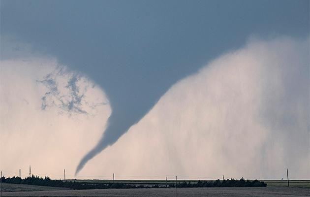 Twisters rip through Kansas in May. Photo: Getty