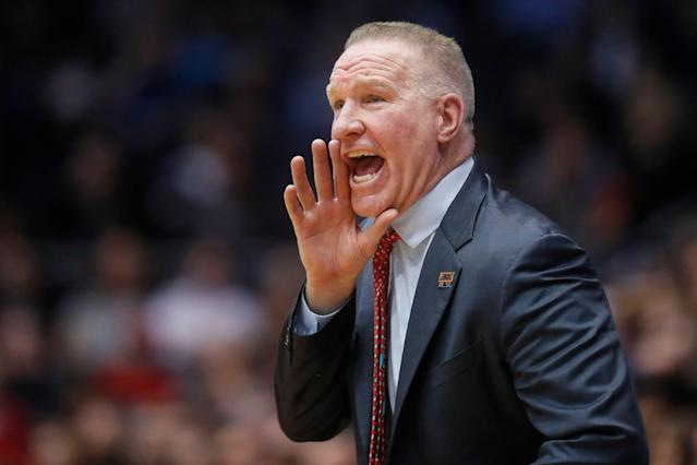 St. John's coach Chris Mullin has stepped down after four seasons at his alma mater. (AP Photo/John Minchillo)