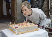 <p>Sophie, Countess of Wessex, blew out candles on her 50th birthday. </p>