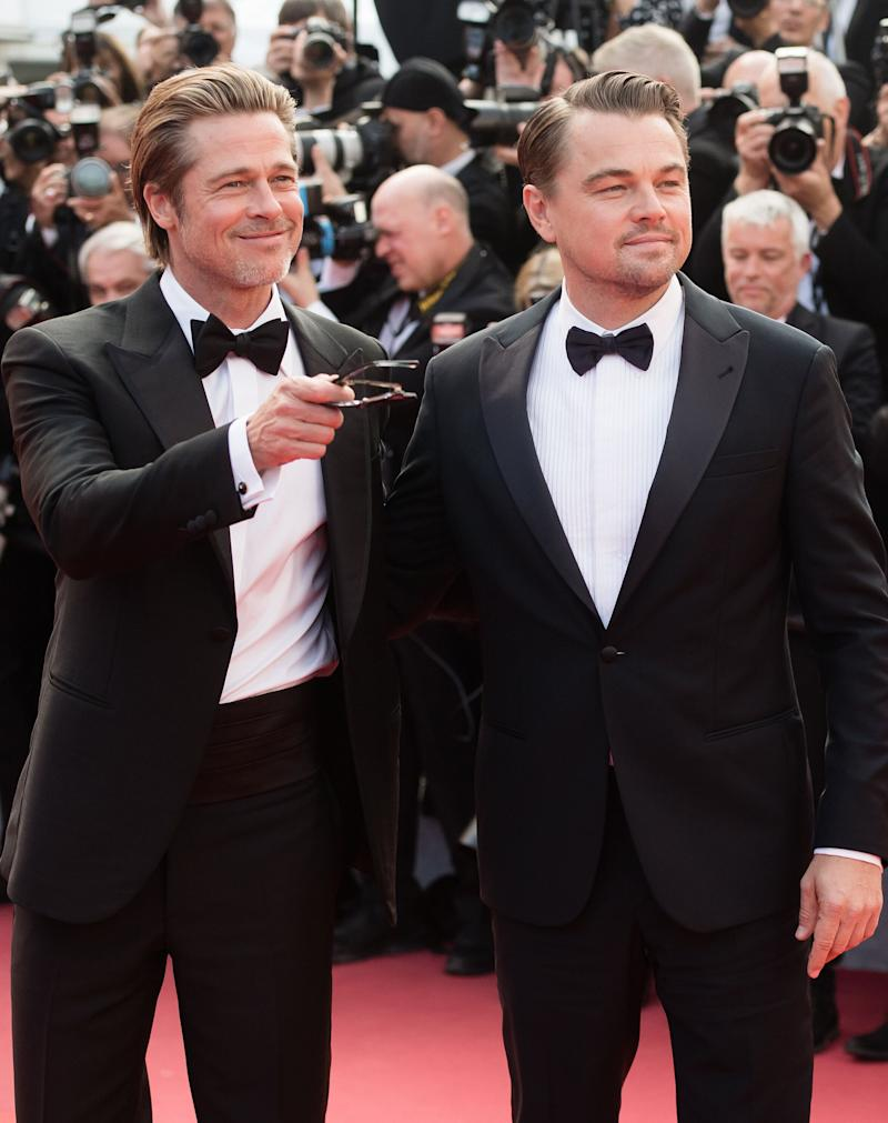 """Leonardo DiCaprio plays aging Western TV star Rick Dalton in """"Once Upon a Time in Hollywood,"""" while Brad Pitt plays his best friend and stuntman Cliff Booth. (Photo: Samir Hussein via Getty Images)"""