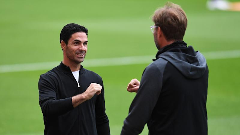 Arteta stresses importance of 'vision and strategy' as Arsenal look to emulate Liverpool