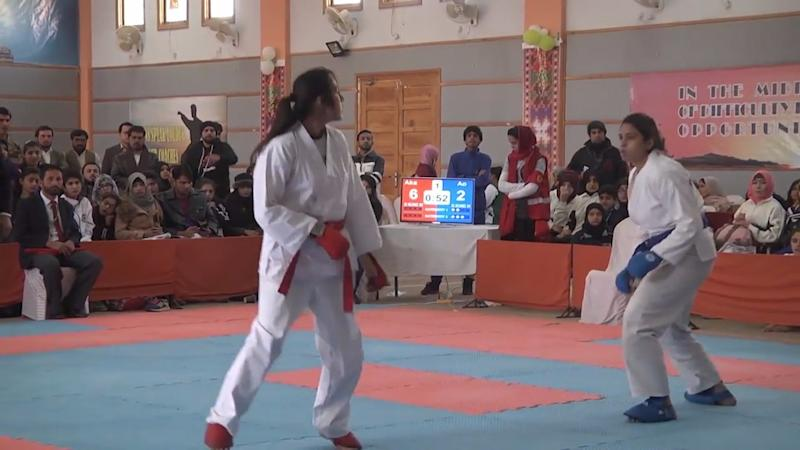 Pakistani Girls Pack a Punch, Master Martial Arts