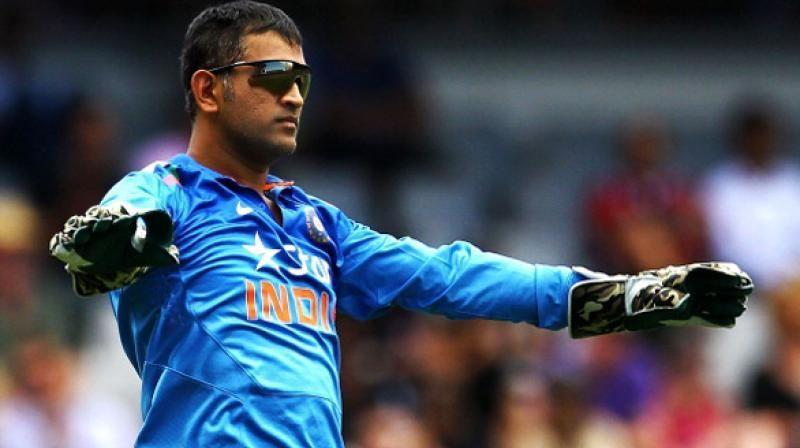 MS Dhoni won the MoM for boosting his team's morale