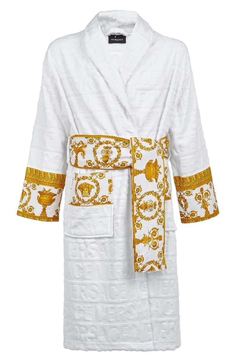 <p>The <span>Versace Barocco Terry Robe</span> ($595) is just the epitome of bougie.</p>