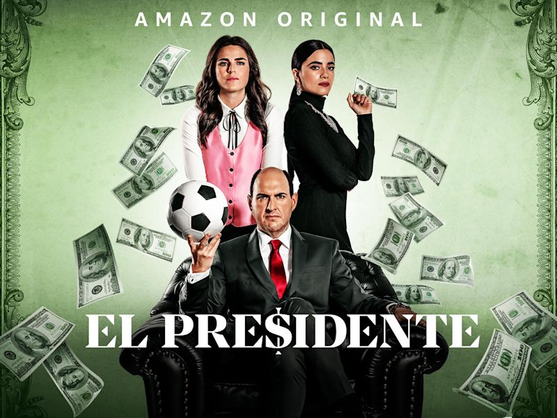 Artwork for Prime Video's El Presidente.