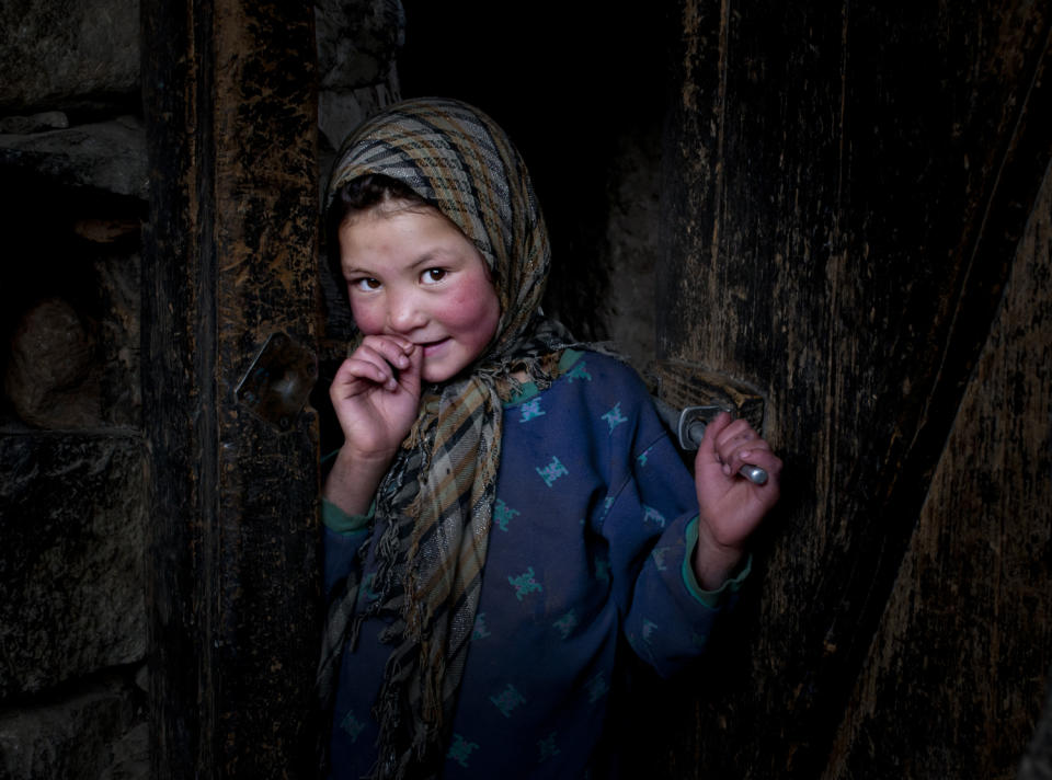"""Little girl of Turtuk Village, Nubra Valley, Ladakh, India. (Sandipan Mukherjee, India, Shortlist, Smile, Open Competition 2013 Sony World Photography Awards) <br> <br> <a href=""""http://worldphoto.org/about-the-sony-world-photography-awards/"""" rel=""""nofollow noopener"""" target=""""_blank"""" data-ylk=""""slk:Click here to see the full shortlist at World Photography Organisation"""" class=""""link rapid-noclick-resp"""">Click here to see the full shortlist at World Photography Organisation</a>"""