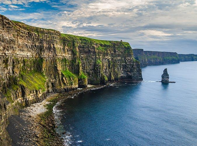 <p>These famous cliffs in County Clare have made several big-screen appearances in movies like <em>Harry Potter and the Chamber of Secrets </em>and <em>The Princess Bride.</em></p>