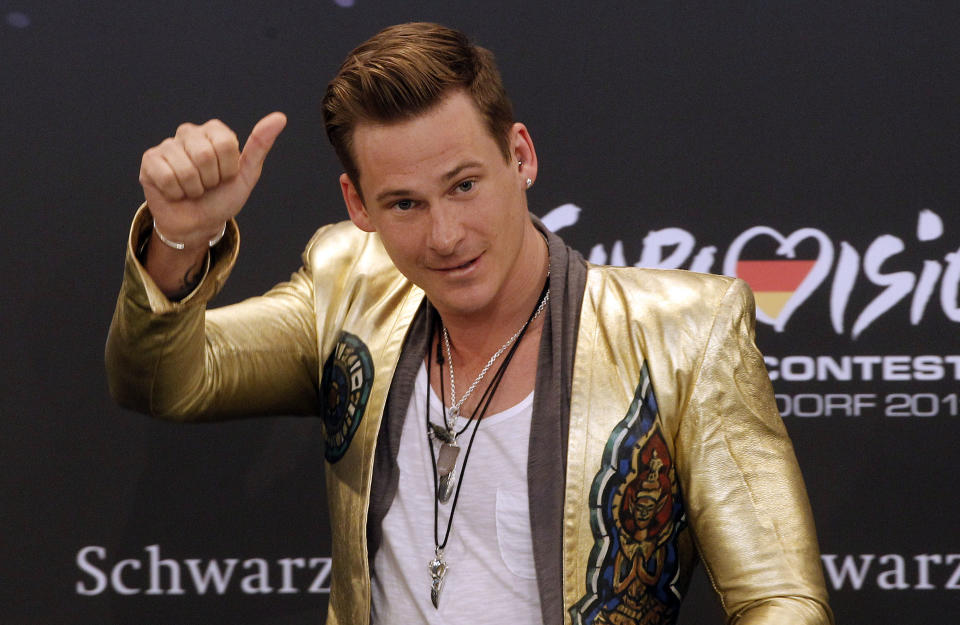The singer was driven to alcohol after being made bankrupt in 2013 (AP)
