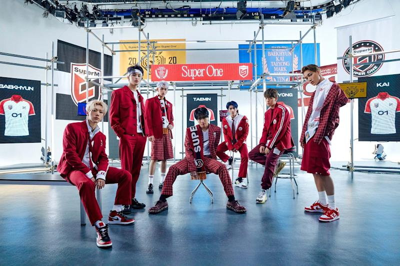 """SuperM will release its debut studio album """"Super One"""" on Sept. 25."""