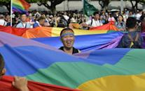 Taiwan will hold its annual gay pride march on Saturday