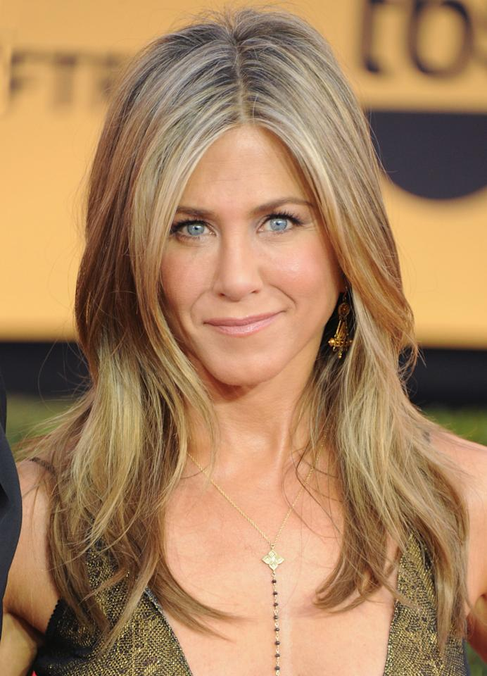 """<p>Not only areJennifer Aniston's upper and lower lipthe same size, they're neither too big, nor too small. Thismeans she's a good friend, which, <em>obviously</em>.""""She's caring and not selfish, but she's also not a pushover,"""" Haner says.""""She won't let people walk all over her.""""</p>"""