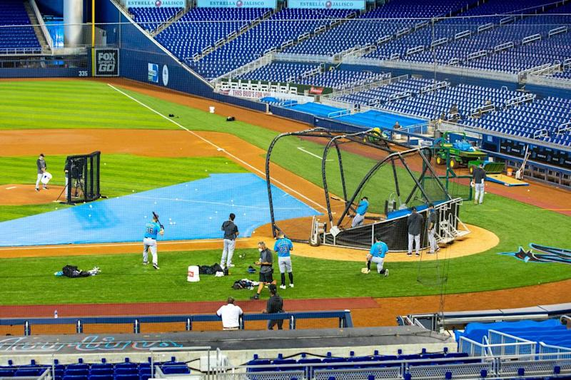Marlins (and MLB) being cautious about COVID-19 talk, but transactions can be telling