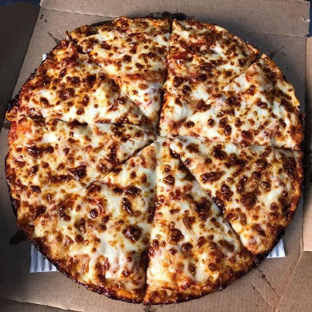 "<p>When you order online or using the Domino's app, you get 50 percent off any menu-priced pizza.</p><p><a href=""https://www.instagram.com/p/B5dYNKYnbVS/"">See the original post on Instagram</a></p>"
