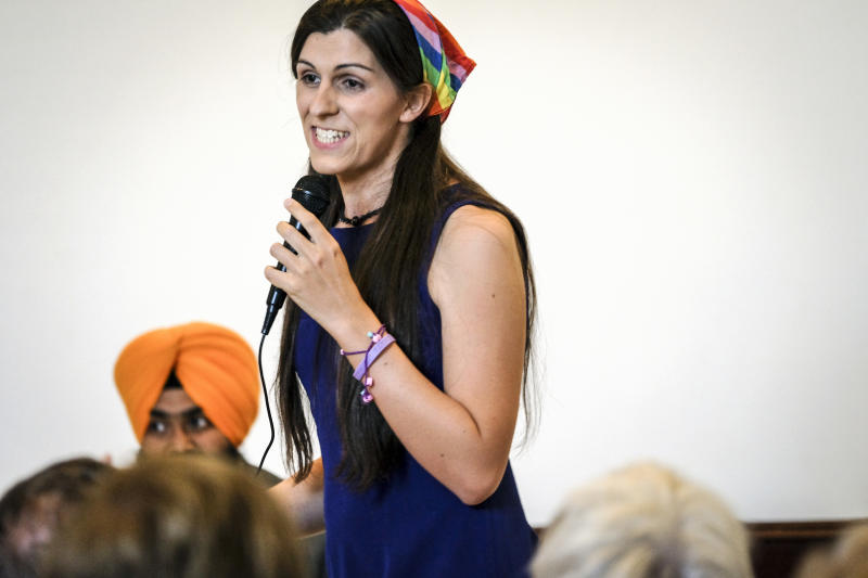 Democrat Danica Roem is set to become the country's first transgender state lawmaker. She was part of the wave of Democratic victories in the Virginia House of Delegates. (J. Lawler Duggan/For The Washington Post via Getty Images)