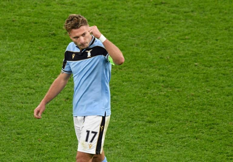 Immobile has scored 10 goals in all competitions this term