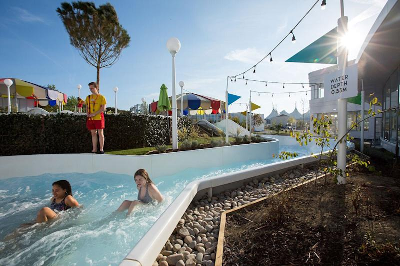 Splash's outdoor rapids are heated for use all year round. (Butlin's)