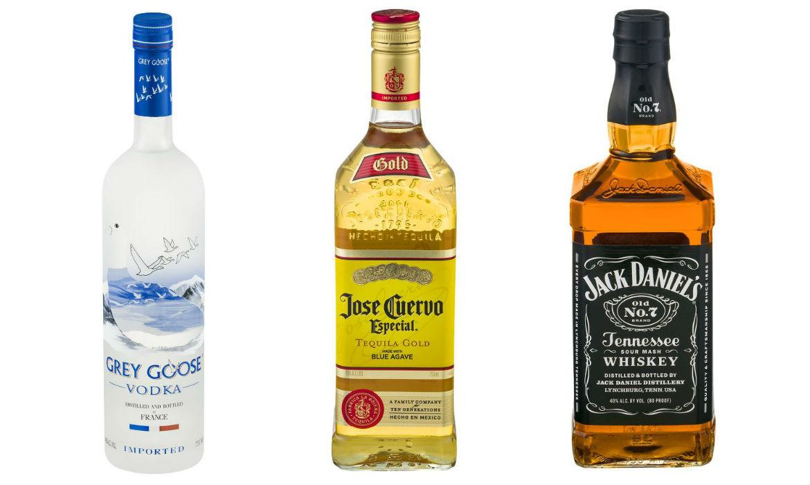 Fascinating facts about america s 15 favorite booze brands for Cool alcoholic drink names