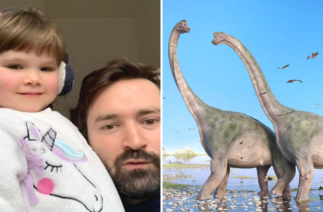 Three-year-old's tear-jerking 'Dinosaurs in Love' song to be released on Spotify to raise funds for wildlife