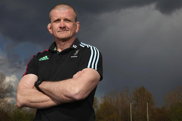 On board: Graham Rowntree: Getty Images for Harlequins FC