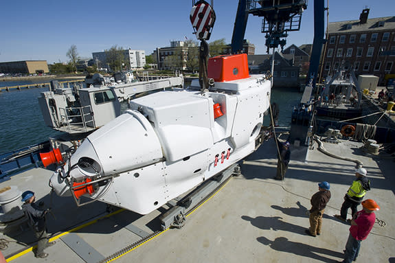 Upgraded Deep-Sea Submersible 'Alvin' Sets Sail
