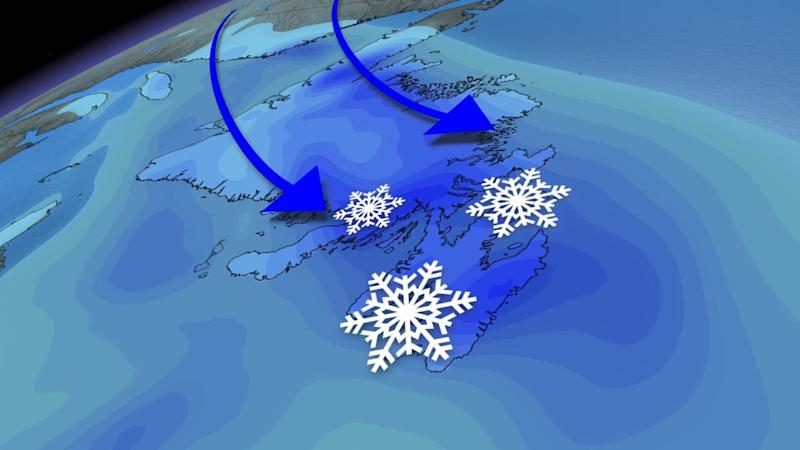 Newfoundland: 40+cm for some areas after Christmas Eve storm