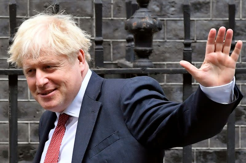 PM Johnson says furlough scheme keeps people in 'suspended animation'