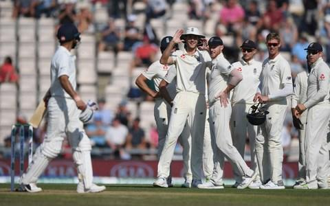 <span>Virat Kohli was wrong to review the decision to give him out</span> <span>Credit: getty images </span>