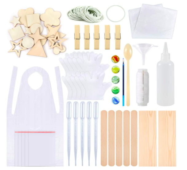 174 Pieces Tie Dye Kit (with 23 kinds of tools), S$42.02. PHOTO: Amazon