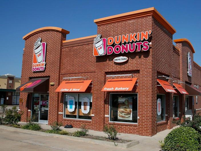 A worker at a Chicago Dunkin' (not pictured) allegedly spat in a state trooper's coffee.