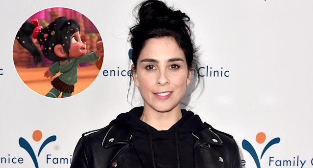 Sarah Silverman attends the Venice Family Clinic Silver Circle Gala at the Beverly Hilton Hotel on March 19, 2018, in Beverly Hills, Calif. (Photo: Walt Disney Pictures/courtesy Everett Collection/Getty Images)