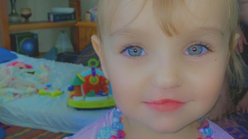 Tributes flow for 3-year-old Evangeline Laura Watts-Marshall.