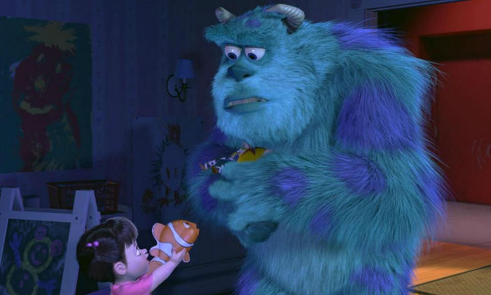 <p>It's not just old characters that sometimes make cameos in Disney films but brand new ones too. Before Finding Nemo was released the titular character appeared in Monsters, Inc. in toy form when Boo gives it to Sully. </p>