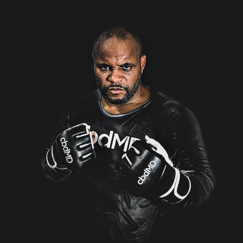 <span>Daniel Cormier the UFC heavyweight champion now sponsored by CBDMD </span>
