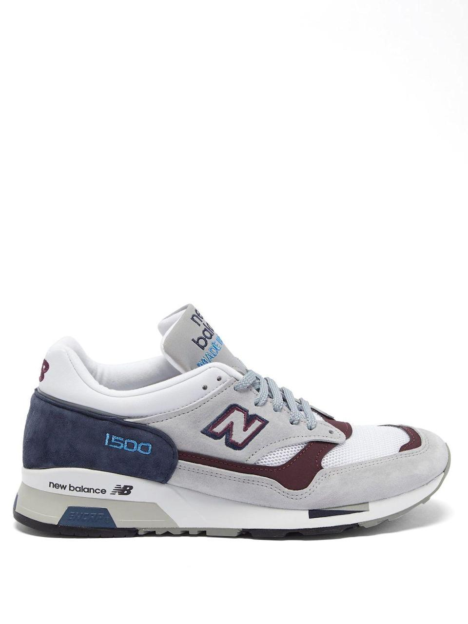 """<p>New Balance</p><p>Was £150.00</p><p>Now £90.00</p><p><a class=""""link rapid-noclick-resp"""" href=""""https://go.redirectingat.com?id=127X1599956&url=https%3A%2F%2Fwww.matchesfashion.com%2Fproducts%2FNew-Balance-Made-in-England-1500-leather-and-mesh-trainers-1356967&sref=https%3A%2F%2Fwww.elle.com%2Fuk%2Ffashion%2Fwhat-to-wear%2Fg36616066%2Fmatches-fashion-sale%2F"""" rel=""""nofollow noopener"""" target=""""_blank"""" data-ylk=""""slk:SHOP NOW"""">SHOP NOW</a></p><p>New Balance trainers make dressing cool very easy. </p>"""