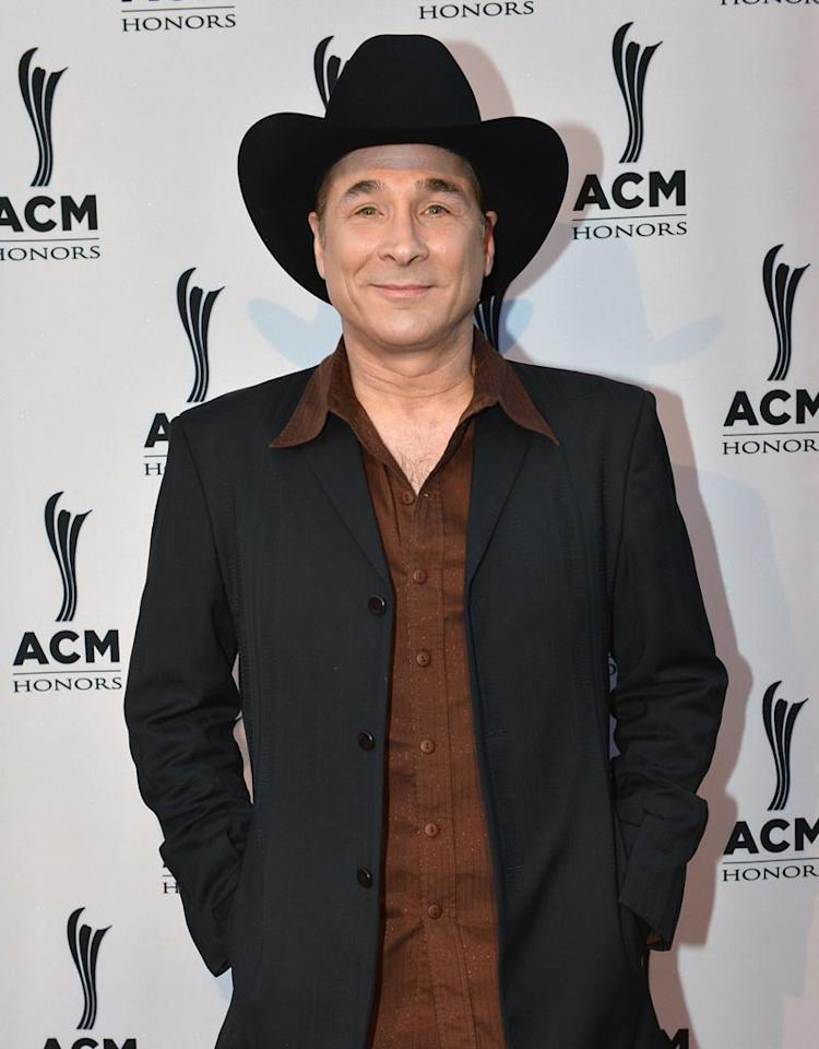 NASHVILLE, TN - SEPTEMBER 24:  Clint Black attends the 6th Annual ACM Honors at Ryman Auditorium on September 24, 2012 in Nashville, Tennessee.  (Photo by Rick Diamond/Getty Images for ACM)