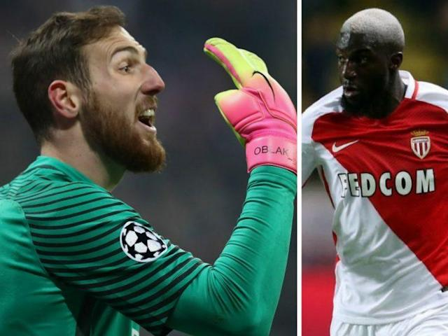 Jan Oblak and Tiemoue Bakayoko