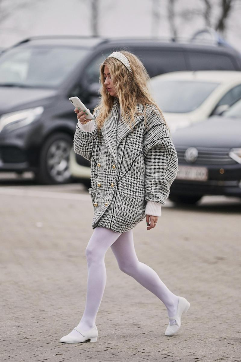 Tights are all the rage: but is there a more sustainable option? (IMAXtree)