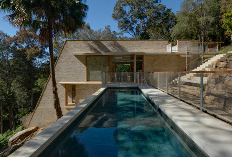 Cabbage Tree House in Bayview, New South Wales has been crowned the 2018 Australian House of the Year