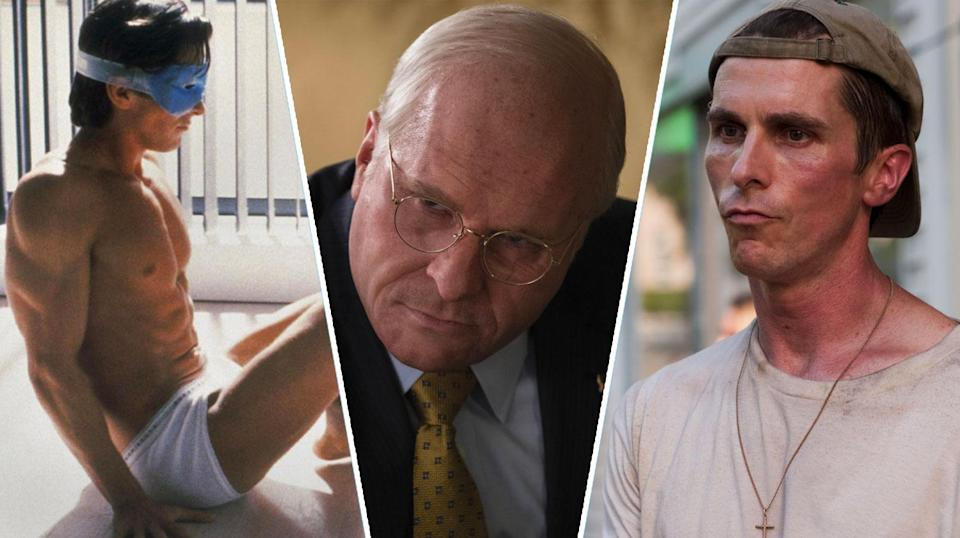 From buff, to heavy, to gaunt – Bale's body has been through it all (Lionsgate/eOne/Paramount)