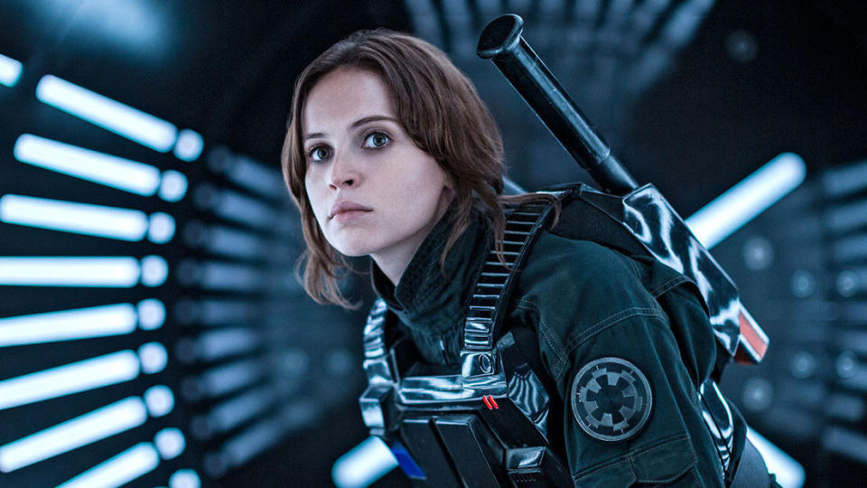 Felicity Jones would love to play Jyn Erso again after 'Rogue One: A Star Wars Story'. (Lucasfilm/Disney)