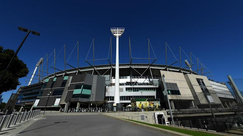 The Melbourne Cricket Ground is scheduled to host the AFL season opener on Thursday