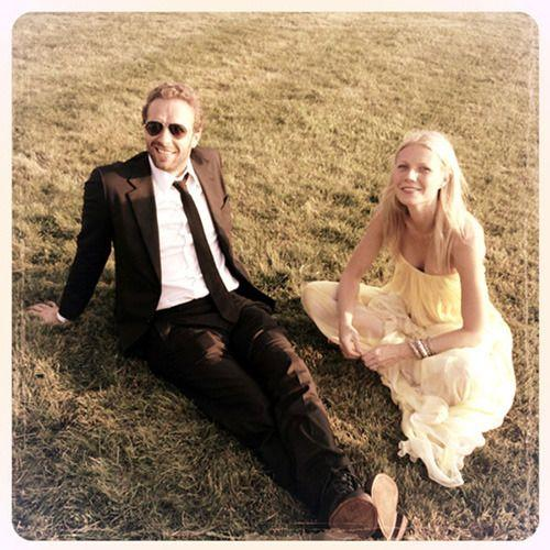 Chris Martin and Gwyneth Paltrow. Credit: Goop
