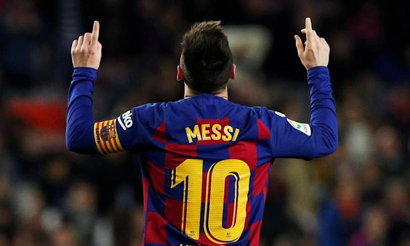 Lionel Messi is top of the Spanish scoring charts despite a difficult season at Barça.
