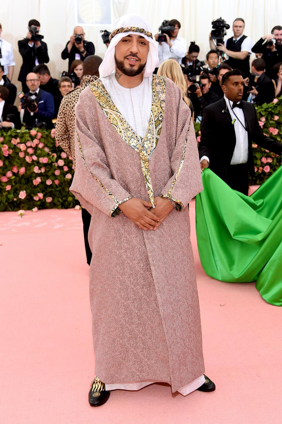 """<h1 class=""""title"""">French Montana in Gucci</h1><cite class=""""credit"""">Photo: Getty Images</cite>"""