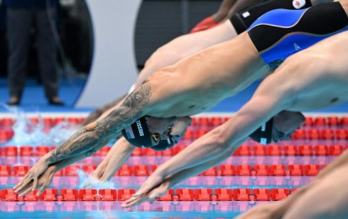 Caeleb Dressel is aiming for a multiple swimming gold medal haul at the Tokyo Olympics