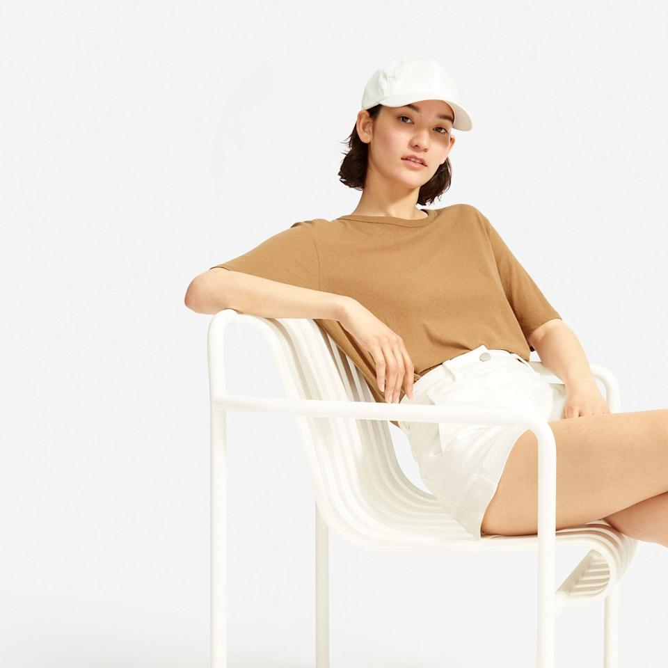 <p>You'll want to wear this <span>Everlane The Baseball Cap</span> ($22) all the time.</p>