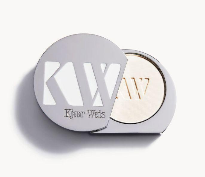 "<a href=""https://kjaerweis.com/"" target=""_blank"">Kjaer Weis</a> is the brainchild of Danish makeup artist Kirsten Kjaer Weis, who has worked with Vogue, Elle and Marie Claire. The brand uses organic ingredients in its formulations and puts an emphasis on reducing waste with its <a href=""https://kjaerweis.com/about/intelligent-refill-system"" target=""_blank"">refill system</a>. One of our favorite products is the <a href=""https://kjaerweis.com/product/powder/translucent"" target=""_blank"">translucent pressed powder</a>, which controls shine, doesn't feel cake-y and leaves skin looking smooth."