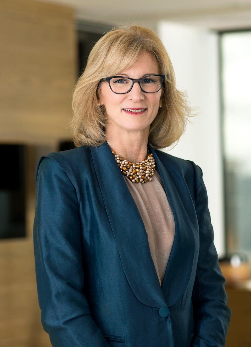 A photo of Catherine Norman, FAR Limited's female CEO.