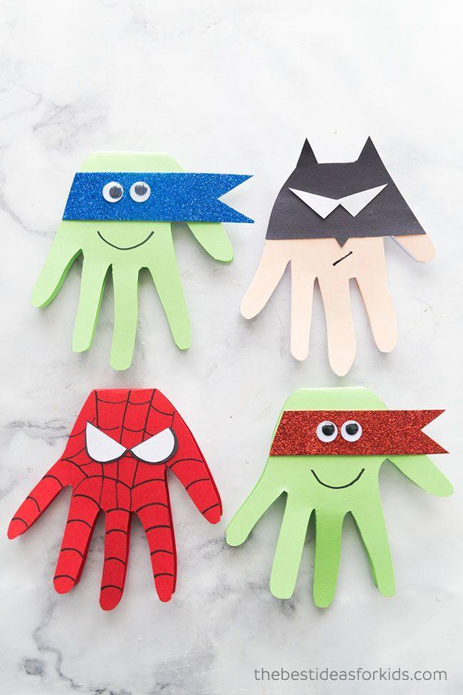 """<p>It's the cutest way for the young superhero fan to show their love for the big superhero in her life. </p><p><em><a href=""""https://www.thebestideasforkids.com/super-hero-craft/"""" rel=""""nofollow noopener"""" target=""""_blank"""" data-ylk=""""slk:Get the tutorial at The Best Ideas for Kids »"""" class=""""link rapid-noclick-resp"""">Get the tutorial at The Best Ideas for Kids »</a></em></p>"""